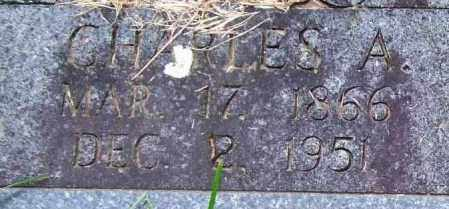 NOBLE, CHARLES A. (CLOSE UP) - Garland County, Arkansas | CHARLES A. (CLOSE UP) NOBLE - Arkansas Gravestone Photos
