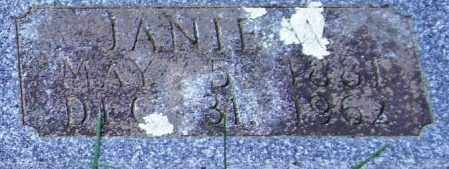NORSWORTHY, JANIE W. (CLOSE UP) - Garland County, Arkansas | JANIE W. (CLOSE UP) NORSWORTHY - Arkansas Gravestone Photos