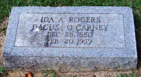 O'CARNEY, IDA A. - Garland County, Arkansas | IDA A. O'CARNEY - Arkansas Gravestone Photos