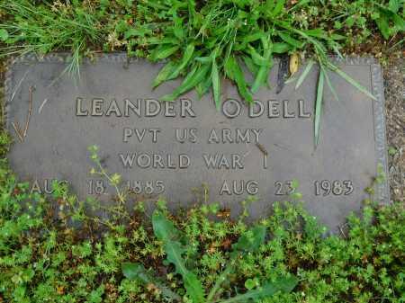 O'DELL (VETERAN WWI), LEANDER - Garland County, Arkansas | LEANDER O'DELL (VETERAN WWI) - Arkansas Gravestone Photos