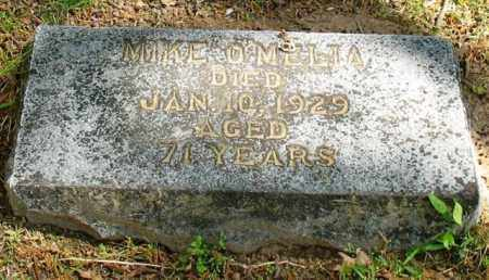O'MELIA, MIKE - Garland County, Arkansas | MIKE O'MELIA - Arkansas Gravestone Photos