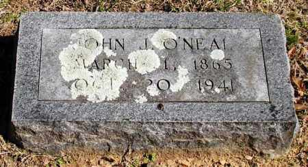 O'NEAL, JOHN J. - Garland County, Arkansas | JOHN J. O'NEAL - Arkansas Gravestone Photos