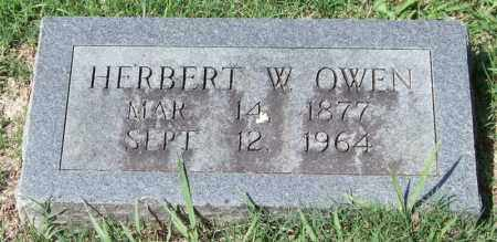 OWEN, HERBERT W. - Garland County, Arkansas | HERBERT W. OWEN - Arkansas Gravestone Photos