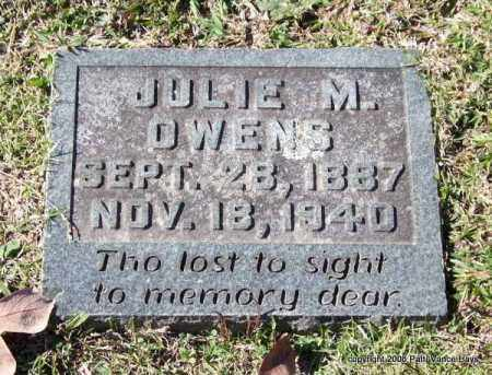 OWENS, JULIE M. - Garland County, Arkansas | JULIE M. OWENS - Arkansas Gravestone Photos