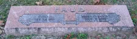 TERRY PAGE, CELESTA - Garland County, Arkansas | CELESTA TERRY PAGE - Arkansas Gravestone Photos