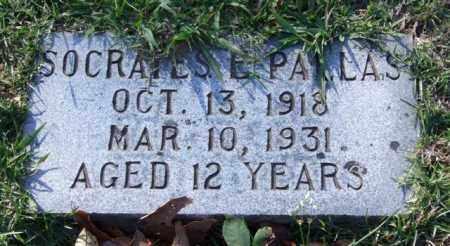 PALLAS, SOCRATES E. - Garland County, Arkansas | SOCRATES E. PALLAS - Arkansas Gravestone Photos