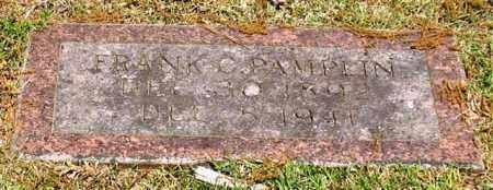 PAMPLIN, FRANK C. - Garland County, Arkansas | FRANK C. PAMPLIN - Arkansas Gravestone Photos