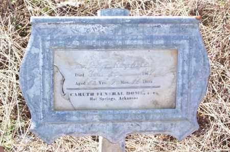 RAGSDALE, GRACE - Garland County, Arkansas | GRACE RAGSDALE - Arkansas Gravestone Photos