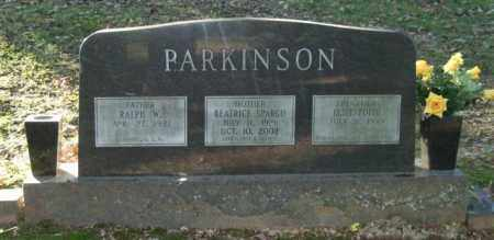 PARKINSON, BEATRICE - Garland County, Arkansas | BEATRICE PARKINSON - Arkansas Gravestone Photos
