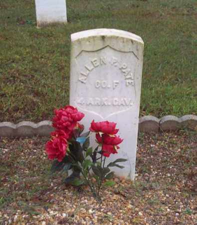 PATE (VETERAN UNION), ALLEN P - Garland County, Arkansas | ALLEN P PATE (VETERAN UNION) - Arkansas Gravestone Photos