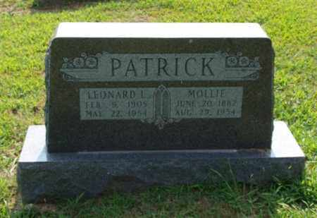 PATRICK, LEONARD L. - Garland County, Arkansas | LEONARD L. PATRICK - Arkansas Gravestone Photos
