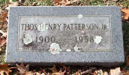 PATTERSON, JR., THOMAS HENRY - Garland County, Arkansas | THOMAS HENRY PATTERSON, JR. - Arkansas Gravestone Photos