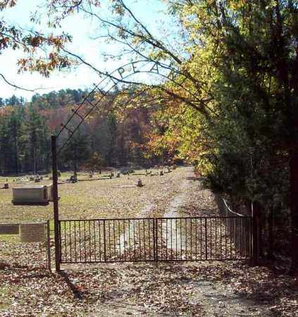 *PEAK CEMETERY, GATE - Garland County, Arkansas | GATE *PEAK CEMETERY - Arkansas Gravestone Photos