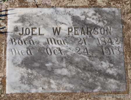 PEARSON, JOEL W. - Garland County, Arkansas | JOEL W. PEARSON - Arkansas Gravestone Photos