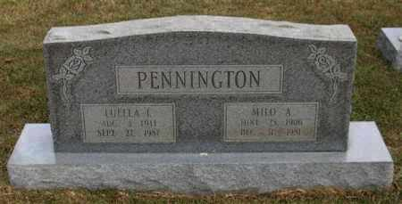 PENNINGTON, LUELLA E. - Garland County, Arkansas | LUELLA E. PENNINGTON - Arkansas Gravestone Photos