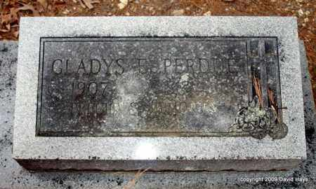 PERDUE, GLADYS E. - Garland County, Arkansas | GLADYS E. PERDUE - Arkansas Gravestone Photos