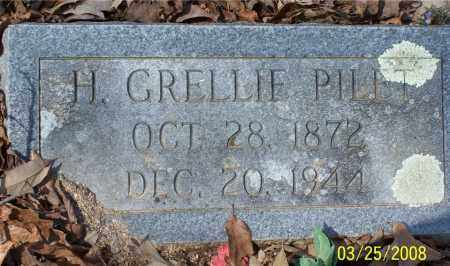 PILET, H. GRELLIE - Garland County, Arkansas | H. GRELLIE PILET - Arkansas Gravestone Photos