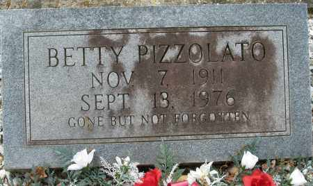 PIZZOLATO, BETTY - Garland County, Arkansas | BETTY PIZZOLATO - Arkansas Gravestone Photos