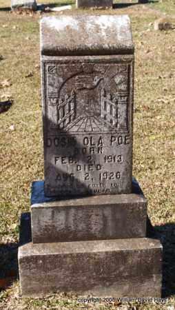 POE, DOSIA OLA - Garland County, Arkansas | DOSIA OLA POE - Arkansas Gravestone Photos