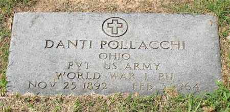 POLLACCHI (VETERAN WWI), DANTI - Garland County, Arkansas | DANTI POLLACCHI (VETERAN WWI) - Arkansas Gravestone Photos