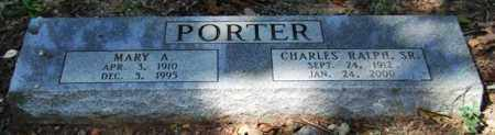 PORTER, MARY A. - Garland County, Arkansas | MARY A. PORTER - Arkansas Gravestone Photos