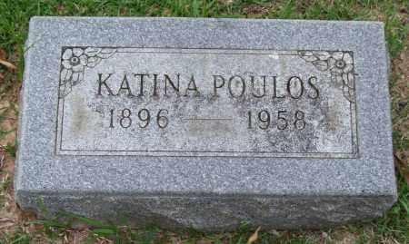 POULOS, KATINA - Garland County, Arkansas | KATINA POULOS - Arkansas Gravestone Photos