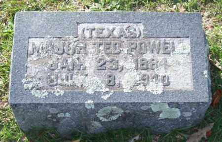 POWELL (VETERAN), TED - Garland County, Arkansas | TED POWELL (VETERAN) - Arkansas Gravestone Photos