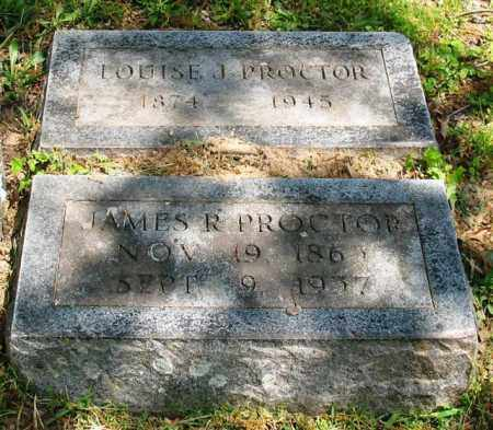 PROCTOR, LOUISE J. - Garland County, Arkansas | LOUISE J. PROCTOR - Arkansas Gravestone Photos