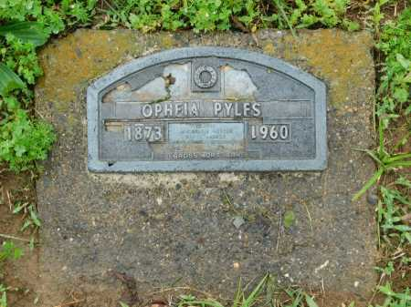 PYLES, OPHELIA - Garland County, Arkansas | OPHELIA PYLES - Arkansas Gravestone Photos