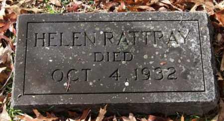 RATTRAY, HELEN - Garland County, Arkansas   HELEN RATTRAY - Arkansas Gravestone Photos