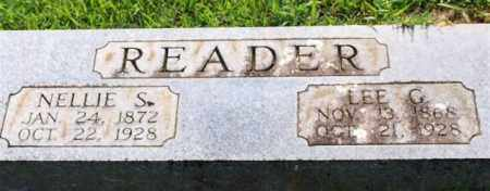 READER, NELLIE S. - Garland County, Arkansas | NELLIE S. READER - Arkansas Gravestone Photos