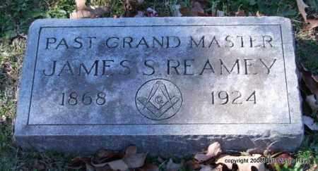REAMEY, JAMES S. - Garland County, Arkansas | JAMES S. REAMEY - Arkansas Gravestone Photos