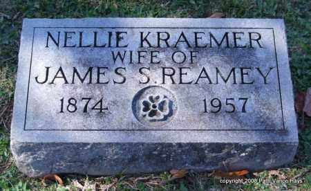 KRAEMER REAMEY, NELLIE - Garland County, Arkansas | NELLIE KRAEMER REAMEY - Arkansas Gravestone Photos