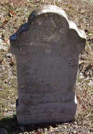REECE, GEORGE W. - Garland County, Arkansas | GEORGE W. REECE - Arkansas Gravestone Photos