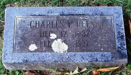 REESE, CHARLES F. - Garland County, Arkansas | CHARLES F. REESE - Arkansas Gravestone Photos