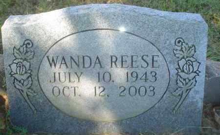 REESE, WANDA - Garland County, Arkansas | WANDA REESE - Arkansas Gravestone Photos