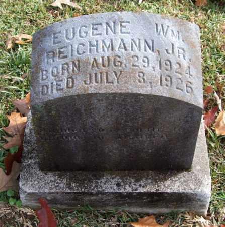 REICHMANN, JR., EUGENE WILLIAM - Garland County, Arkansas | EUGENE WILLIAM REICHMANN, JR. - Arkansas Gravestone Photos