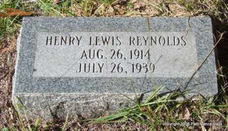 REYNOLDS, HENRY LEWIS - Garland County, Arkansas | HENRY LEWIS REYNOLDS - Arkansas Gravestone Photos