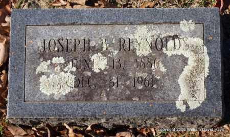 REYNOLDS, JOSEPH B. - Garland County, Arkansas | JOSEPH B. REYNOLDS - Arkansas Gravestone Photos