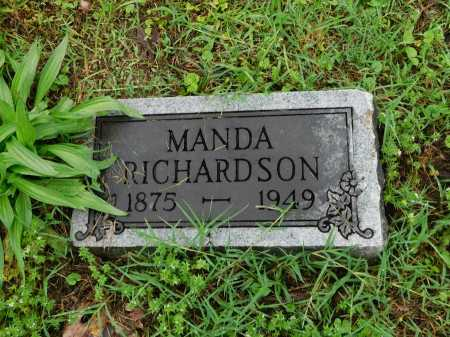 RICHARDSON, MANDA - Garland County, Arkansas | MANDA RICHARDSON - Arkansas Gravestone Photos