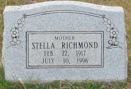 RICHMOND, STELLA - Garland County, Arkansas | STELLA RICHMOND - Arkansas Gravestone Photos