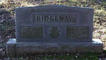RIDGEWAY, ANNE - Garland County, Arkansas | ANNE RIDGEWAY - Arkansas Gravestone Photos