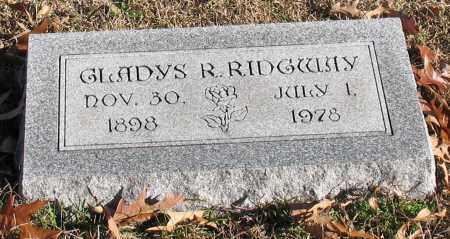 RIDGWAY, GLADYS R. - Garland County, Arkansas | GLADYS R. RIDGWAY - Arkansas Gravestone Photos