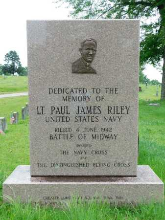 RILEY (VETERAN WWII, KIA), PAUL JAMES (CENOTAPH) - Garland County, Arkansas | PAUL JAMES (CENOTAPH) RILEY (VETERAN WWII, KIA) - Arkansas Gravestone Photos