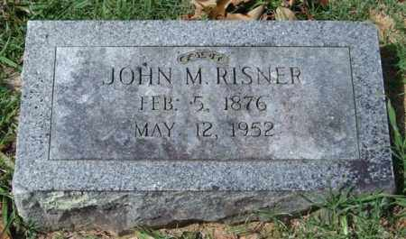 RISNER, JOHN M. - Garland County, Arkansas | JOHN M. RISNER - Arkansas Gravestone Photos