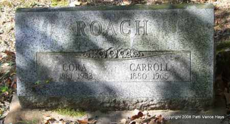 REYNOLDS ROACH, CORA - Garland County, Arkansas | CORA REYNOLDS ROACH - Arkansas Gravestone Photos