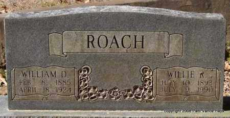 ROACH, WILLIE - Garland County, Arkansas | WILLIE ROACH - Arkansas Gravestone Photos