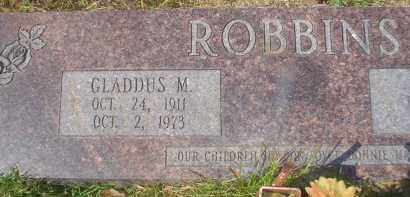 ROBBINS (VETERAN WWII), GLADDUS M. - Garland County, Arkansas | GLADDUS M. ROBBINS (VETERAN WWII) - Arkansas Gravestone Photos