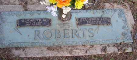 ROBERTS, STANFORD LEE - Garland County, Arkansas | STANFORD LEE ROBERTS - Arkansas Gravestone Photos