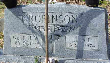 ROBINSON, LULA E. - Garland County, Arkansas | LULA E. ROBINSON - Arkansas Gravestone Photos